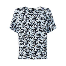 Buy Collection WEEKEND by John Lewis Andie Ditsy Print Top, Blue Online at johnlewis.com