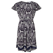 Buy Collection WEEKEND by John Lewis Feather Print Dress, Multi Online at johnlewis.com