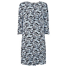 Buy Collection WEEKEND by John Lewis Osha Ditsy Print Jersey Dress, Blue Online at johnlewis.com