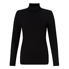 Buy John Lewis Roll Neck Jersey Top Online at johnlewis.com