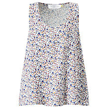 Buy Collection WEEKEND by John Lewis Mimosa Ditsy Print Vest, Multi Online at johnlewis.com