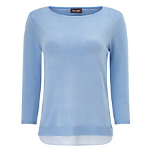Buy Phase Eight Layered Vita Jumper, Chambray Online at johnlewis.com