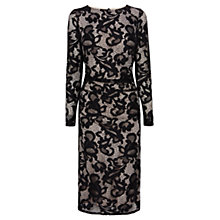 Buy Coast Coralla Lace Dress, Monochrome Online at johnlewis.com