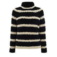Buy Karen Millen Boucle Sweater, Black/Multi Online at johnlewis.com