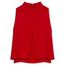 Buy Coast Caster Top, Red Online at johnlewis.com
