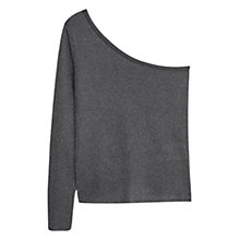 Buy Mango Asymmetric Top, Silver Online at johnlewis.com