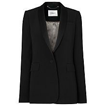 Buy L.K. Bennett Jules Tux Jacket, Black Online at johnlewis.com