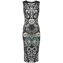 Buy Ted Baker Bellia Jewel Print Midi Dress, Black Online at johnlewis.com