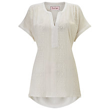 Buy Phase Eight Eddie Embroidered Top, White Online at johnlewis.com