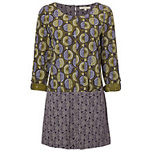 Buy White Stuff Morning Mist Jersey Tunic Dress, Green Online at johnlewis.com