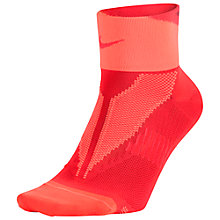 Buy Nike Elite Lightweight Quarter Running Socks Online at johnlewis.com