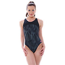 Buy Zoggs Concord Zip Back Swimsuit, Black Online at johnlewis.com