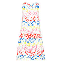 Buy Kin by John Lewis Girls' Spot Maxi Dress, Multi Online at johnlewis.com