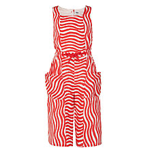 Buy Kin by John Lewis Girls' Wide Leg Cropped Jumpsuit, Red Online at johnlewis.com