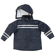 Buy Polarn O. Pyret Children's Plain Raincoat, Blue Online at johnlewis.com