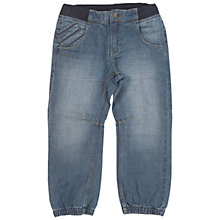 Buy Polarn O. Pyret Children's Jeans, Mid Blue Online at johnlewis.com