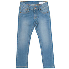 Buy Polarn O. Pyret Children's Slim-Fit Jeans, Blue Online at johnlewis.com