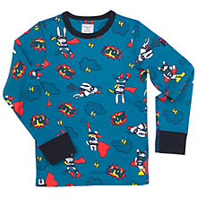 Buy Polarn O. Pyret Children's Hero Top Online at johnlewis.com