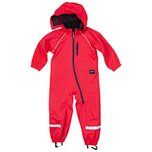 Buy Polarn O. Pyret Children's Shell Overall, Red Online at johnlewis.com