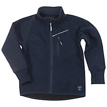 Buy Polarn O. Pyret Children's Fleece Jacket, Navy Online at johnlewis.com