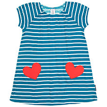 Buy Polarn O. Pyret Children's Heart Pocket Dress Online at johnlewis.com