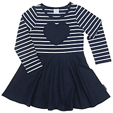 Buy Polarn O. Pyret Children's Heart Dress, Blue Online at johnlewis.com