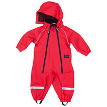 Buy Polarn O. Pyret Baby Shell Snowsuit, Red Online at johnlewis.com
