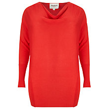 Buy Studio 8 Celine Cowl Neck Jumper, Pout Online at johnlewis.com