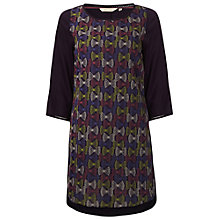 Buy White Stuff Nutkin Tunic Top, Marine Purple Online at johnlewis.com