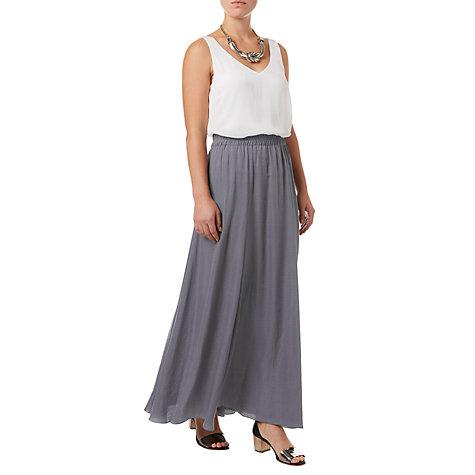 buy phase eight belinda maxi skirt charcoal lewis