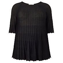 Buy Studio 8 Vanessa Shimmer Jumper, Black Online at johnlewis.com