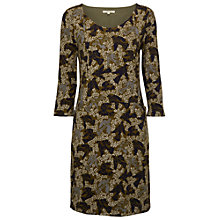 Buy White Stuff Juniper Jersey Dress, Tumeric Green Online at johnlewis.com