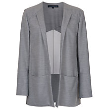 Buy French Connection Ivy Blazer, Light Grey Mel Online at johnlewis.com