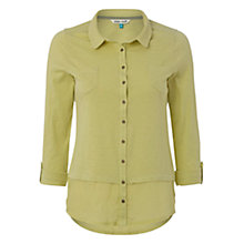 Buy White Stuff Melinka Jersey Shirt, Green Online at johnlewis.com