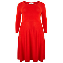 Buy Studio 8 Camille Jersey Dress, Pout Online at johnlewis.com