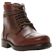 Buy Bertie Cooper Toecap Detail Boots Online at johnlewis.com