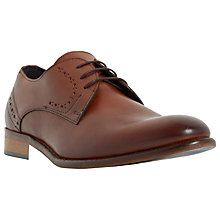 Buy Bertie Ramiro Leather Derby Shoes, Tan Online at johnlewis.com