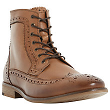Buy Bertie Maxwells Lace-Up Brogue Boots Online at johnlewis.com