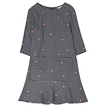 Buy Jigsaw Junior Snail Girls' Dress, Black Online at johnlewis.com