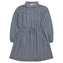 Buy Jigsaw Girls' Double Dash Shirt Dress, Grey Online at johnlewis.com