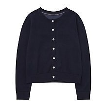 Buy Jigsaw Girls' Cotton and Woven Mix Cardigan Online at johnlewis.com