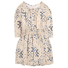 Buy Jigsaw Girls' Swallow Print Dress, Oatmeal Online at johnlewis.com