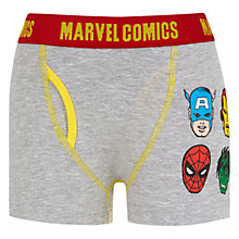 Buy Universal Boys' Marvel Trunks, Pack of 2, Multi Online at johnlewis.com