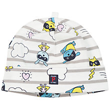 Buy Polarn O. Pyret Baby Beanie Hat, Blue Online at johnlewis.com
