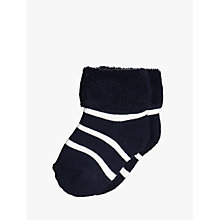 Buy Polarn O. Pyret Baby Stripe Socks Online at johnlewis.com
