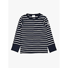 Buy Polarn O. Pyret Baby Stripe Top Online at johnlewis.com