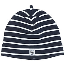 Buy Polarn O. Pyret Children's Stripe Beanie Hat Online at johnlewis.com