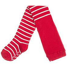 Buy Polarn O. Pyret Baby Stripe Tights Online at johnlewis.com