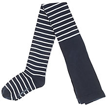 Buy Polarn O. Pyret Children's Stripe Tights Online at johnlewis.com
