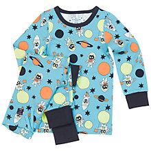 Buy Polarn O. Pyret Children's Hero Pyjamas, Blue Online at johnlewis.com